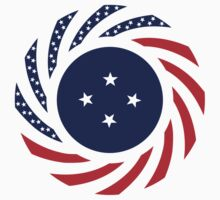 Micronesian American Multinational Patriot Flag Series Kids Clothes