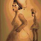 Pear Head, a mini fantasy by Sarah Curtiss