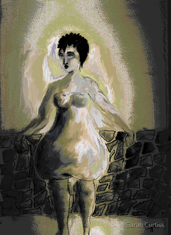 Pear-shaped body, a mini fantasy by Sarah Curtiss