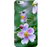 Pink Flower with Buds iPhone Case/Skin