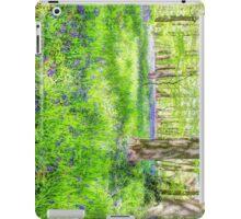 Bluebell Woodlands 1 iPad Case/Skin