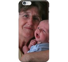 Grandmother & Grandson Joshua iPhone Case/Skin