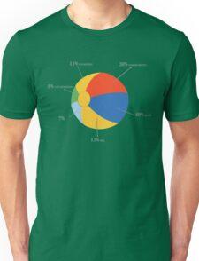 Summer Chart Funny Geek Nerd Unisex T-Shirt