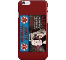 A Vampire's Medical Alert iPhone Case/Skin