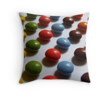 All Lined Up And No Where To Go! Throw Pillow