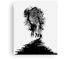 Stripe Charging Canvas Print