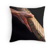 Henry, didgeridoo artiste Throw Pillow
