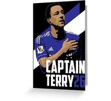 Captain Terry Greeting Card