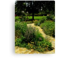 A Garden Somewhere Canvas Print