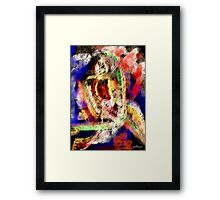 FEATHERED NUDE Framed Print