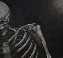 Skeleton in Strong Light by Joseph Bradley