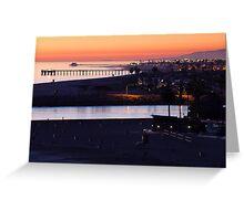 Newport Twilight Greeting Card