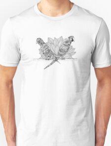 Ornate Birds Unisex T-Shirt