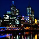 Night in Melbourne by Bianca Turner