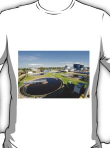 Sewerage treatment facility. The treated water is then used for irrigation and agricultural use T-Shirt