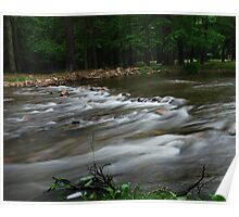 Swift Flowing Stream Poster