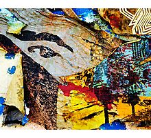Paper Eye On Hollywood Wall Photographic Print