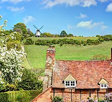 Cobstone Windmill - Turville by Colin  Williams Photography
