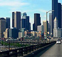 Seattle Viaduct View by Tamara Valjean