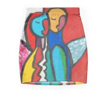 Peace on Earth Mini Skirt