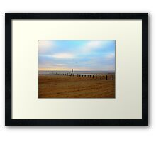 Tranquil Sands Framed Print