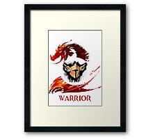 Guild Wars 2 Warrior  Framed Print
