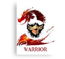 Guild Wars 2 Warrior  Canvas Print