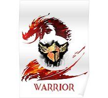 Guild Wars 2 Warrior  Poster