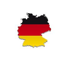 Map of Germany 4 by gruml