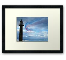 Red Arrows - Whitby Framed Print