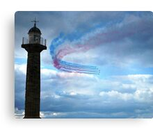 Red Arrows - Whitby Canvas Print