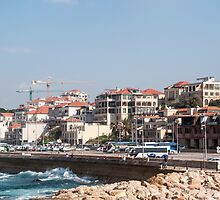Jaffa port, Israel as seen from the south  by PhotoStock-Isra
