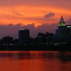 Cincinnati Sunset by deadbetty