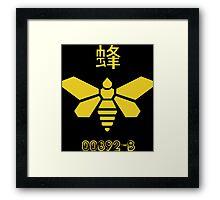 yellow moth Funny Geek Nerd Framed Print