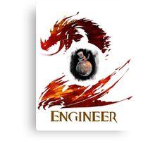 Guild Wars 2 Engineer Canvas Print