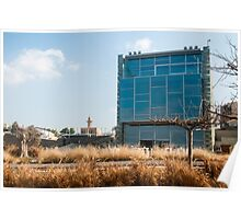 The Peres Center for Peace, on the Jaffa shoreline, Israel  Poster
