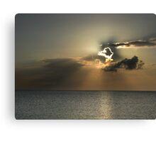 Cayman Sunset Canvas Print