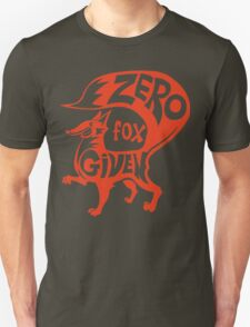 Zero Fox Given Funny Geek Nerd T-Shirt