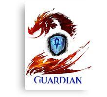 Guild Wars 2 Guardian Canvas Print