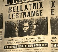Wanted - Bellatrix Lestrange by Tinyevilpixie1