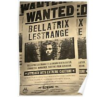 Wanted - Bellatrix Lestrange Poster
