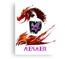 Guild Wars 2 Mesmer Canvas Print