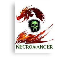 Guild Wars 2 Necromancer Canvas Print