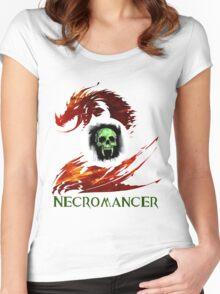 Guild Wars 2 Necromancer Women's Fitted Scoop T-Shirt