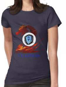 Guild Wars 2 Guardian Womens Fitted T-Shirt