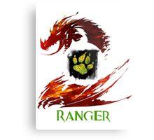 Guild Wars 2 Ranger Metal Print