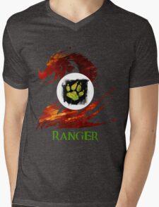 Guild Wars 2 Ranger Mens V-Neck T-Shirt