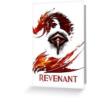Guild Wars 2 Revenant Greeting Card
