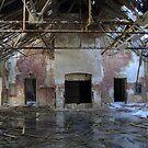 Falling apart hospital by DariaGrippo