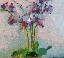 Purple Orchids a la Monet by suzannem73